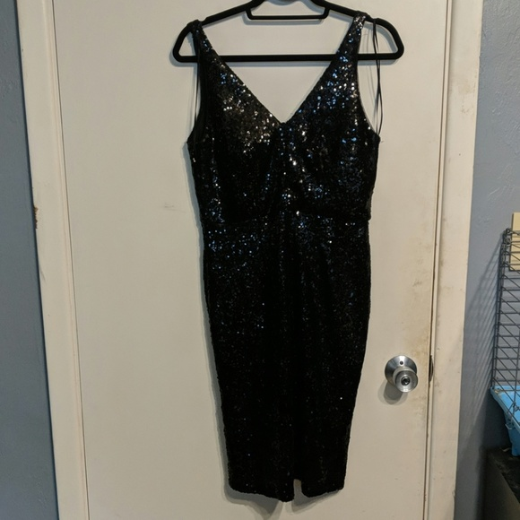 Night Way Collections Dresses & Skirts - Sequin Black Party Dress